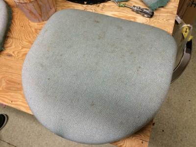 古賀市役所 別館展望室 椅子(イス)クリーニング