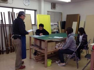 リペアの技術研修を開催しました。