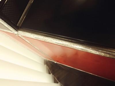 家具(金属部分)の錆び落とし
