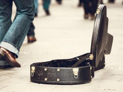 ギターケース・アンプ傷修理