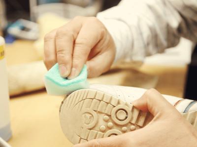 靴メンテナンス洗浄