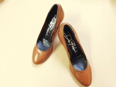 靴染め替え(布・スウェード)
