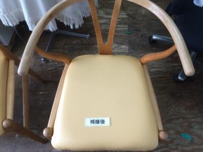 椅子(イス)の座面製作