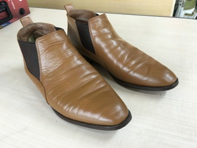 靴のカラーリペア