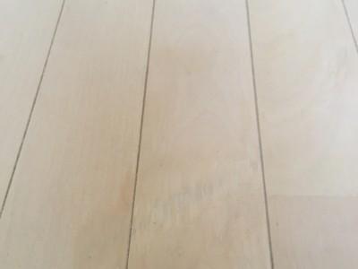 マンションの床焼け跡リペア