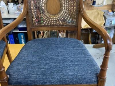 アジアン籐椅子リペア