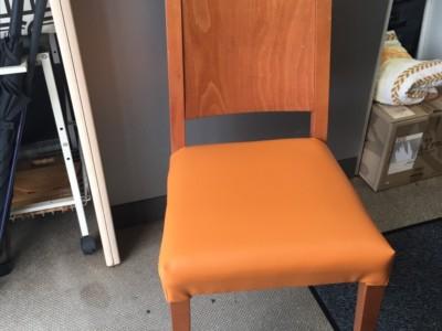椅子座面張替え